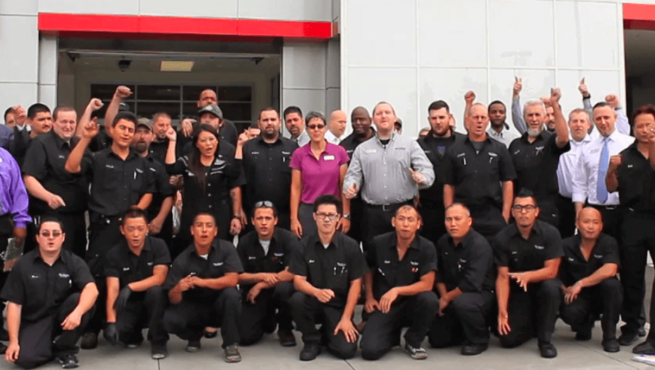 Dealership team